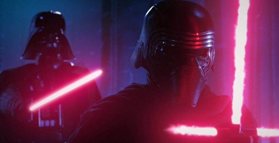 Force of Darkness: Kylo Ren vs. Darth Vader